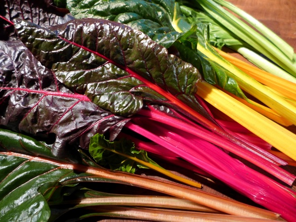 Image of rainbow chard