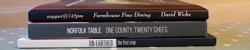 Image of East Anglian cookbooks
