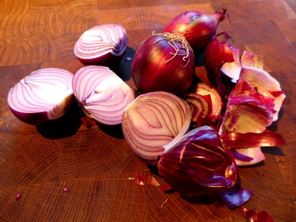 Image of red onions