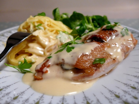 Image of truffled chicken breast