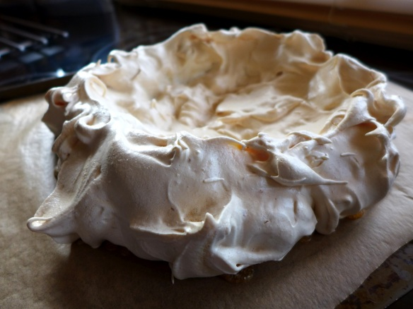 Image of cooked meringue