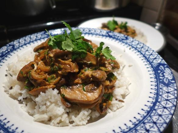 Image of mushroom goulash