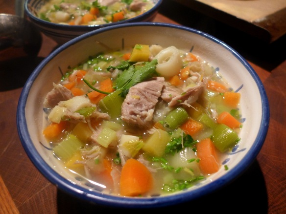 Image of Scotch Broth, served