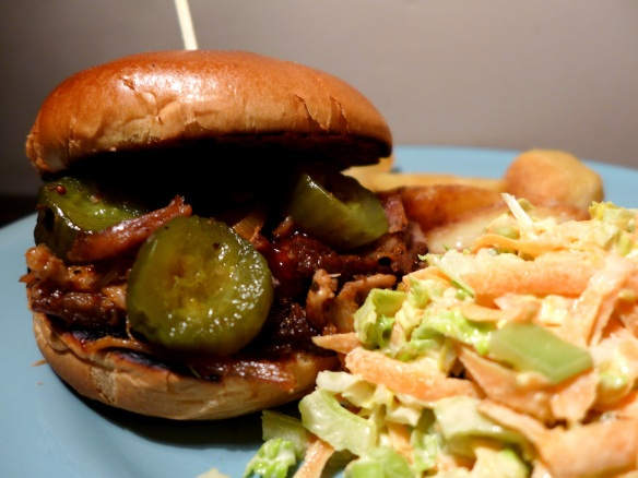 Image of pulled pork bun
