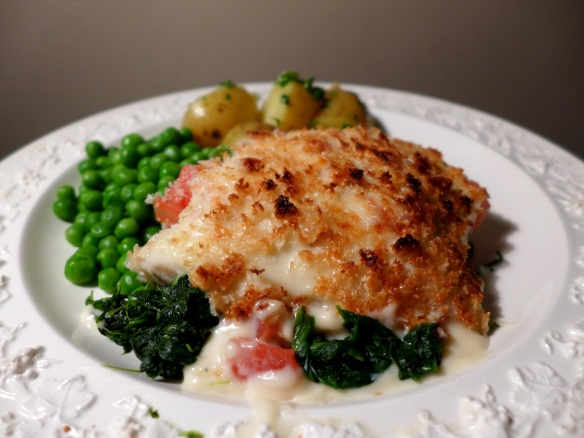 Image of Smoked Haddock and Spinach Mornay