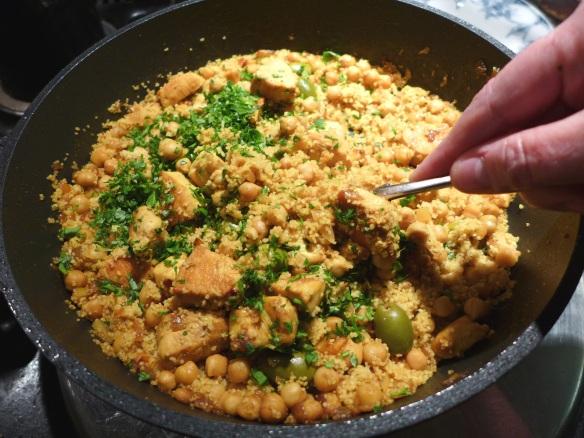 Image of One-pot Lemon Chicken Couscous