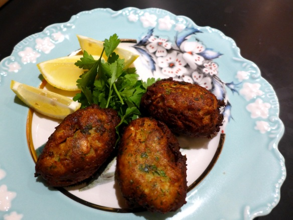 Image of crab beignets