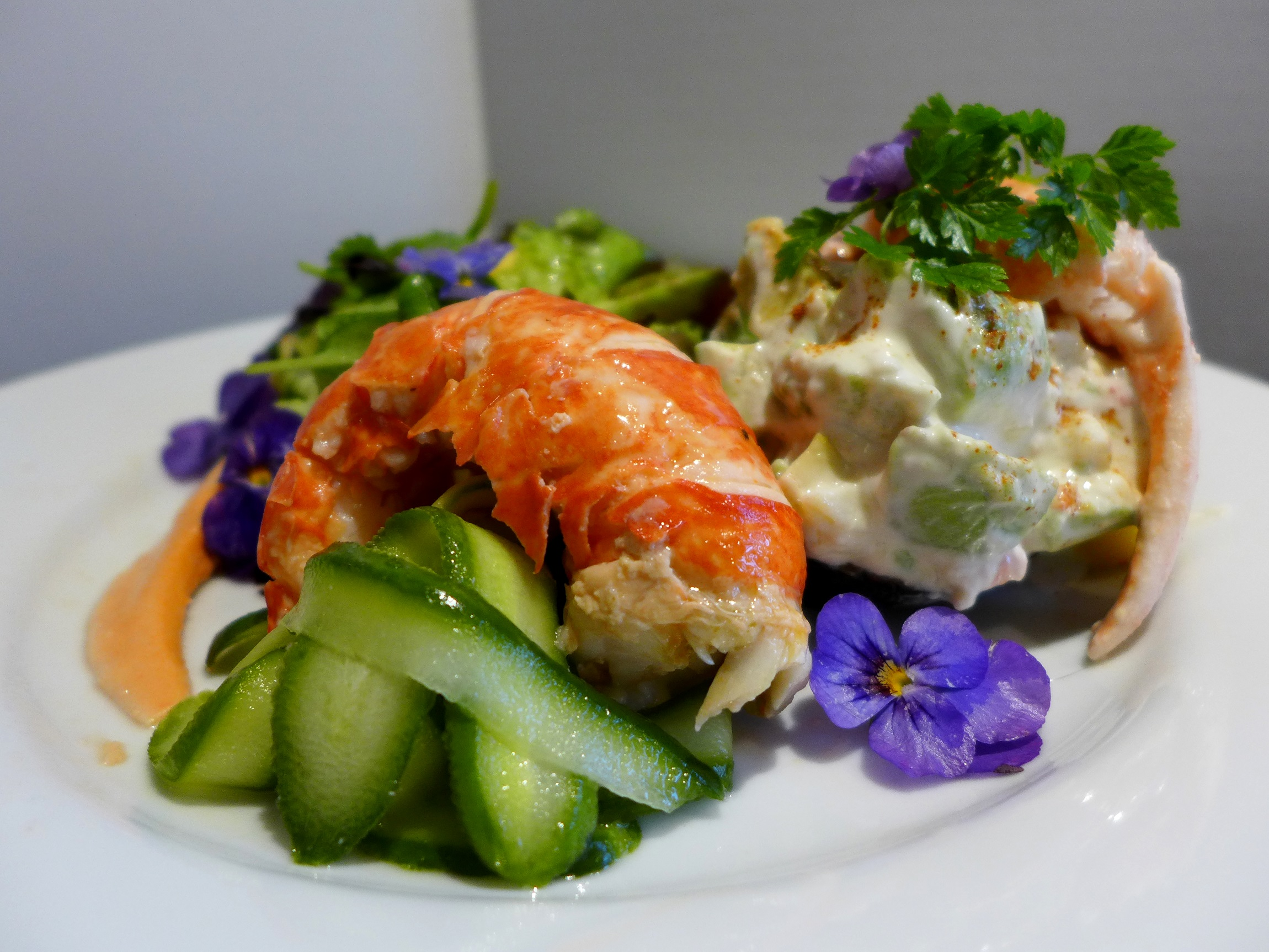 Lobster Salad and the Kitchen Sink | Mrs Portly's Kitchen
