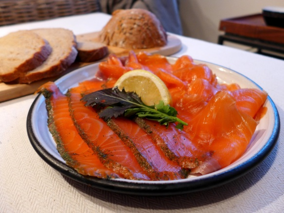 Image of Ummera's gravadlax and smoked salmon