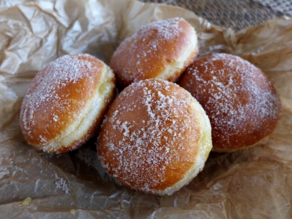 Image of quince doughnuts
