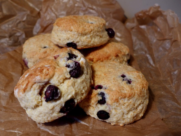 Image of blueberry buttermilk scones