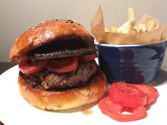 Image of venison burger