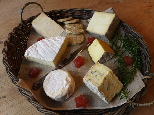 Image of Suffolk cheeses