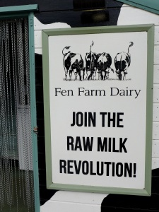 Image of Fen Farm Dairy sign