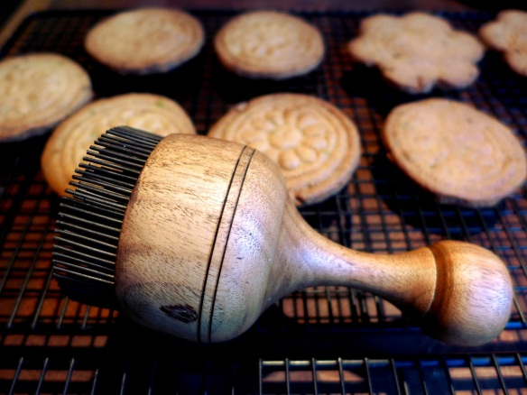 Image of shortbread pricker with biscuits
