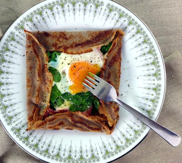 Image of pancake served
