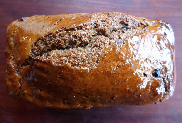 Image of sweet and spicy soda bread, glazed