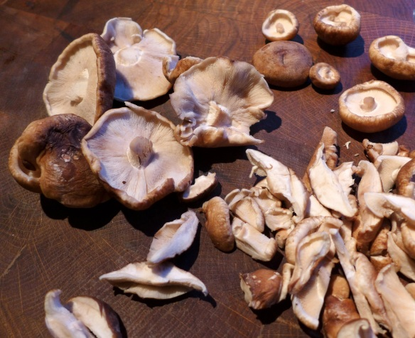 Image of shiitake mushrooms
