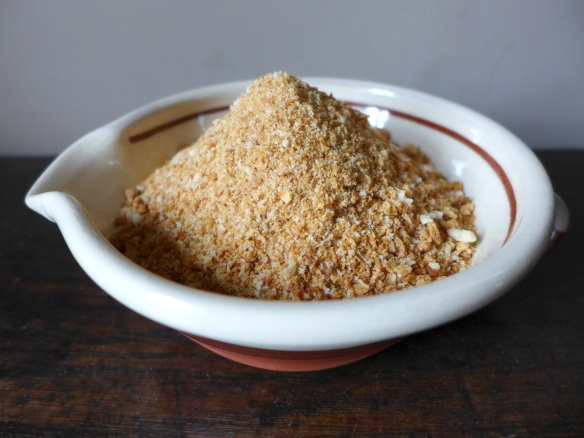 Image of toasted breadcrumbs