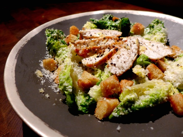 Image of chicken Caesar salad