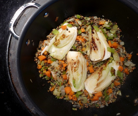 Image of lentils and fennel