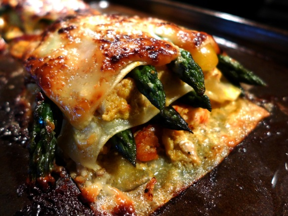 Image of cooked lasagne