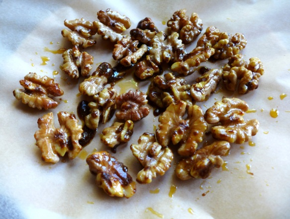 Image of spiced walnuts