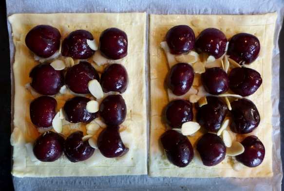 Image of tarts ready for oven