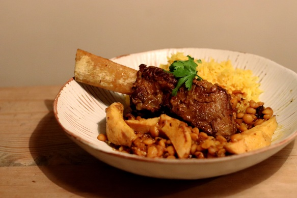 Image of beef short ribs with quince