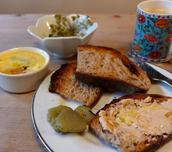 Image of pate and toast