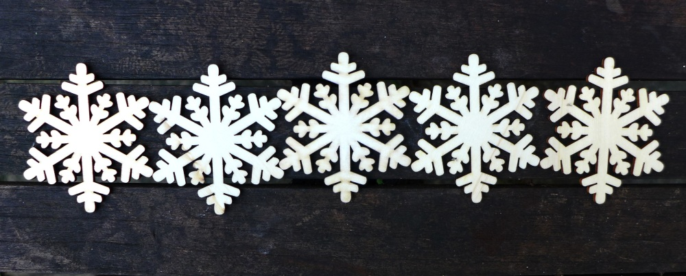 Image of snowflake stencils