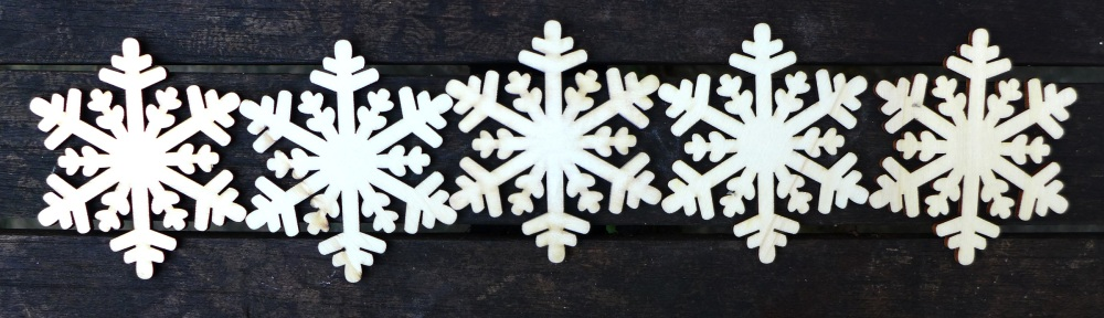 Image of snowflake stencils