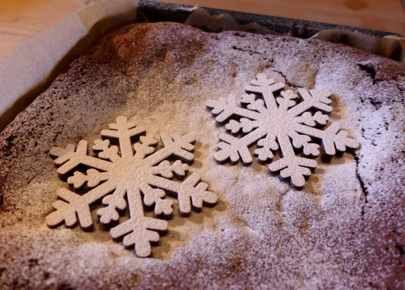 Image of snowflake stencil