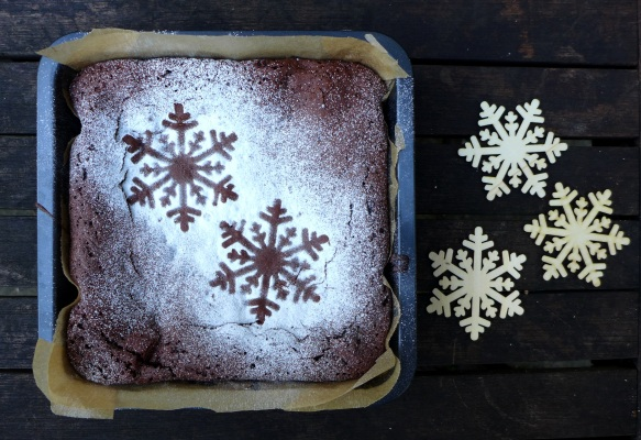 Image of Christmas brownie