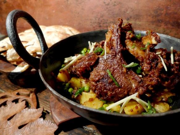 Image of mutton chops masala