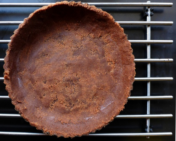 Image of chocolate tart base