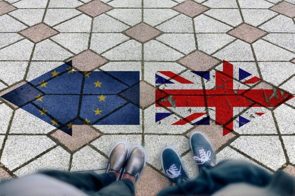 Image of Brexit pavement
