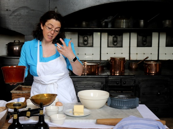 Image of Kathy Hipperson in the Audley End kitchen