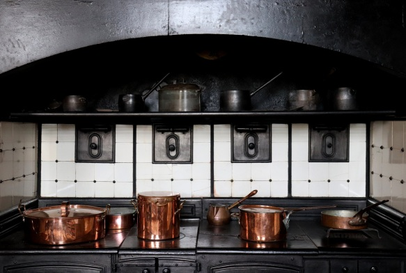 Image of the kitchen range